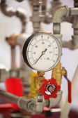 Close up of a pressure-gauge — Stock Photo