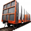 Goods wagon — Stock Photo #34433691