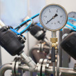 Pressure-gauge — Stock Photo