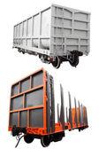 Goods wagon — Stock Photo