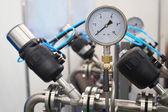 Pressure-gauge — Stock Photo