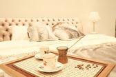 Yatak odası iç — Stok fotoğraf
