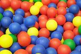 Plastic balls — Stock Photo