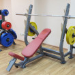 Stock Photo: Gym apparatus