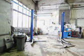 Repair garage — Stockfoto