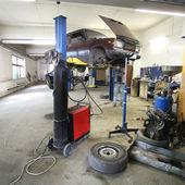 En bil reparation garage — Stockfoto