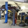 Stock Photo: Car repair garage