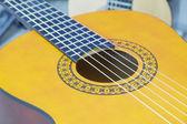 En gitarr — Stockfoto