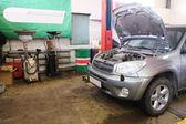 Car repair garage — Stock Photo