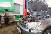 Car repair garage — Foto de Stock