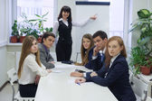 Meeting in office — Stock Photo