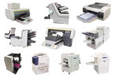 Professional printing machine — Stock Photo
