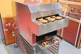 Equipment for pretzels baking — Stock Photo