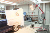 車修理ガレージ — ストック写真