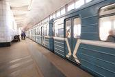 The image of metro train — Stockfoto