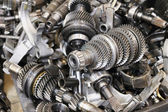 Transmission steel gear boxes — Stock Photo