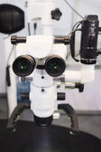 The image of the professional medical laboratory microscope — Stock Photo