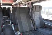 Interiér moderní městský autobus — Stock fotografie