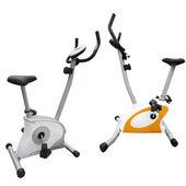 Exercise bicycle — Stock Photo