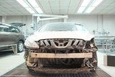 A car repair garage — Stock Photo