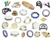 Maracas and  tambourines — Stock Photo