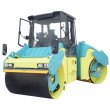 Road roller — Stock Photo #48122361