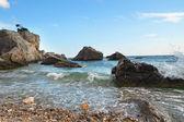 Rocks in the sea — Stock Photo