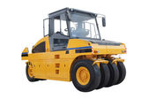 The image of road roller — Stock Photo