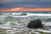 Atardecer en el mar — Foto de Stock