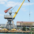 Harbour crane — Stock Photo #50404117