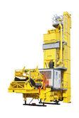 Mobila fabrik på produktion av betong — Stockfoto