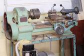 Wood-working lathe — Stock Photo