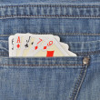 Playing cards — Stock Photo #46785007