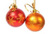 Christmas balls — Stockfoto