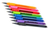Colored ball-pens — Stock Photo