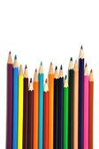 彩色的铅笔 — 图库照片