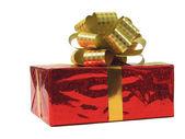 красный подарок — Стоковое фото
