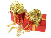 Red gifts — Foto de Stock