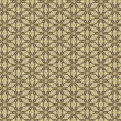 Stock Photo: Vintage shabby background with classy patterns. Seamless vintage delicate colored wallpaper. Geometric or floral pattern on paper texture in grunge style.