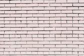 Pink painted brick wall — Stock Photo