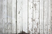 Background of weathered white painted wood — Stock Photo