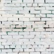 fundo branco vintage brickwall — Foto Stock