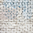 fondo blanco Vintage brickwall — Foto de Stock