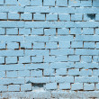 Vintage blue background brickwall — 图库照片