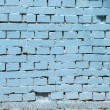 Vintage blue background brickwall — Stock Photo