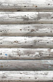 Grungy white background of natural wood — 图库照片