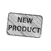New product rubber stamp vector illustration — Stockvektor