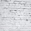 Vintage white background brickwall — 图库照片