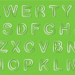 Vector Alphabet Set — Vektorgrafik