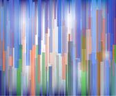 Sfondo colorato astratto di linee vettoriali — Vettoriale Stock